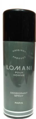 LOMANI Pour Home Deodorant Spray Deodorant Spray  -  For Men