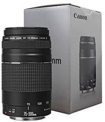 Canon EF 75 300mm f/4 5.6 iii Lens Black, 17 70