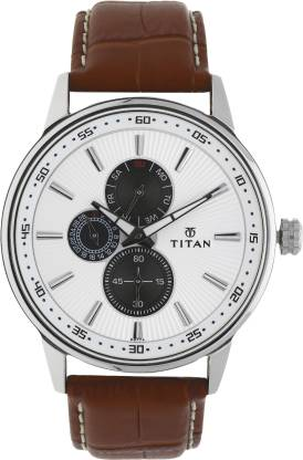 Titan 9441SL01 Smart Steel Analog Watch - For Men