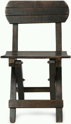 MartCrown Baby Chair Solid Wood Side Table