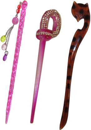 Chanderkash combo of juda sticks Bun Stick