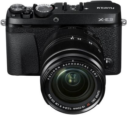 FUJIFILM X-E3 Black with XF 18-55mm Lens Mirrorless Camera Kit