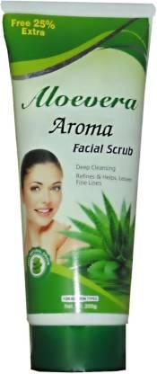 Aloevera Aroma Natural Facial  Scrub