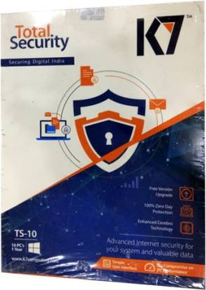 K7 Total Security 10.0 User 1 Year