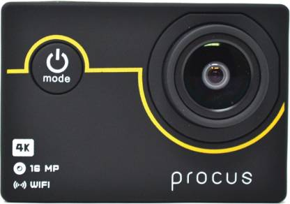 PROCUS Rush 4K Full Pack Sports and Action Camera