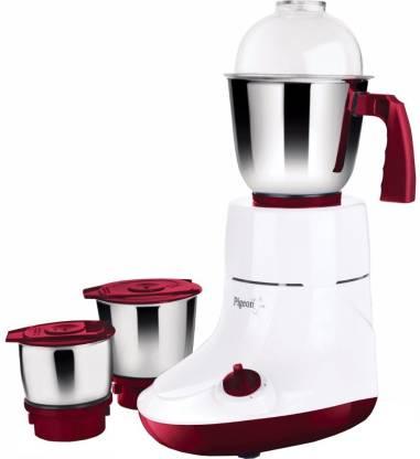 Pigeon Torrent Plus 750 W Mixer Grinder (3 Jars, Red, White)