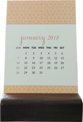 Chambers of Ink Boxed Reversible Quote Calendar 2018 Table Calendar