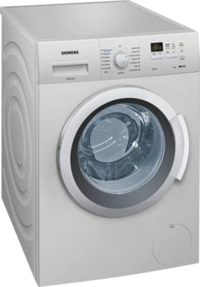 Siemens 7 kg Fully Automatic Front Load Grey