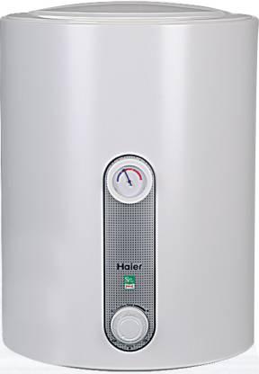 Haier 15 L Storage Water Geyser (ES15H-E1(Horizontal), White)