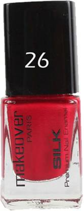 makeover PROFESSIONAL Nail Paint Cherry Red-26 Cherry Red-26