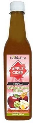 Health first With Mother of Vinegar & honey Vinegar