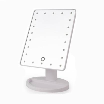 Rianz 22 Led Touch Screen Makeup Mirror, Is Led Mirror Good For Makeup