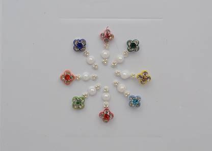 CRYSTAL Fancy Bindi Ladies & Women Multicolor Bindis
