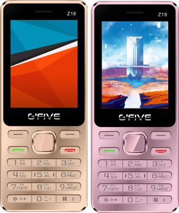 GFive Z18 Combo of Two Mobile
