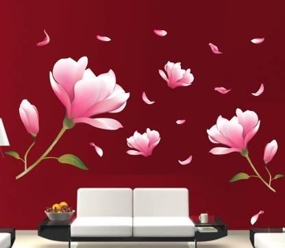 Happy Walls Floral & Botanical Wallpaper Price in India - Buy Happy Walls Floral & Botanical Wallpaper online at Flipkart.com