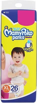 MamyPoko Pants Standard Diapers   XL 26 Pieces