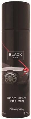 SHIRLEY MAY Black Car Deodorant - 75ml for Men (Imported from U.A.E) Eau de Toilette  -  75 ml