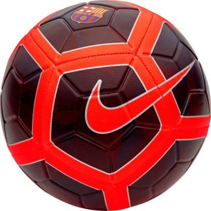 Nike FCB Barcelona Strike Football   Size: 5 Pack of 1, Red  Nike Footballs
