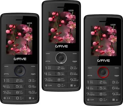 GFive U229 Combo of Three Mobile