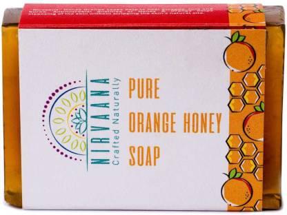 Nirvaana Handmade Natural Orange Honey Soap