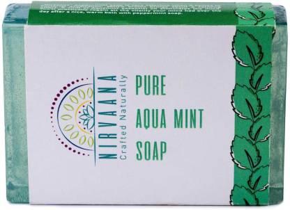 Nirvaana Handmade Natural Aqua Mint Soap