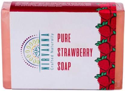 Nirvaana Handmade Natural Strawberry Soap
