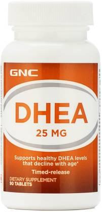 GNC DHEA 25 mg - Timed-Release formula