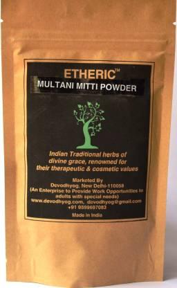 Etheric Pure Fuller's Earth ( Multani Mitti) Powder