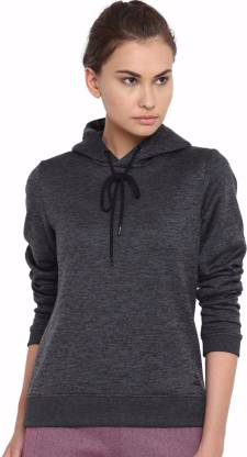Alcis Full Sleeve Self Design Women Sweatshirt