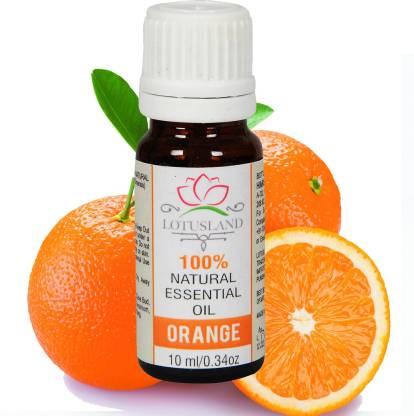 Lotusland 100% Pure & Natural Orange Essential Oil