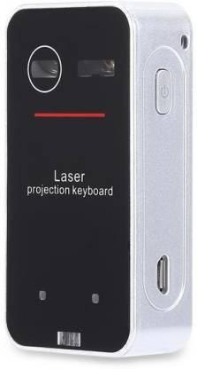 microware 3 in 1 Laser Virtual Laser (Black) Virtual Laser Laptop Keyboard