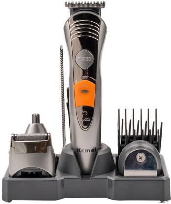 Kemei KM-570 AA  Runtime: 60 min Grooming Kit for Men