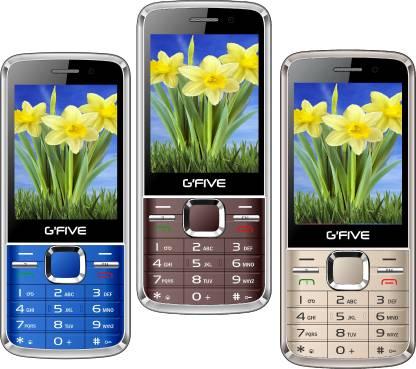 GFive G9 Combo of Three Mobiles