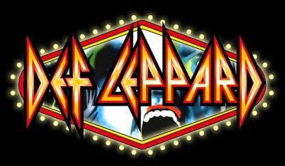 wall poster music def leppard band