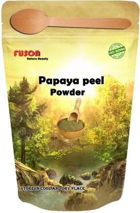 FUSON Papaya Peel powder for Beautiful tan free Radiance glowing skin