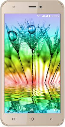 Intex Aqua Note 5.5 (Champagne Gold, 16 GB)