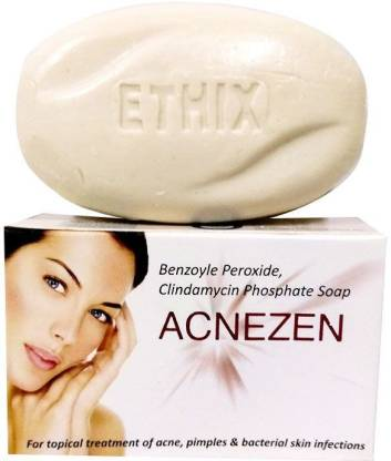 Ethix Acnezen Pimples and Bacterial Skin Infection Soap