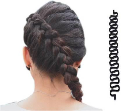 Ritzkart Fashion Hair Braiding Braider Roller for Fish Bone Braiding French Braid style Hair Accessory Set