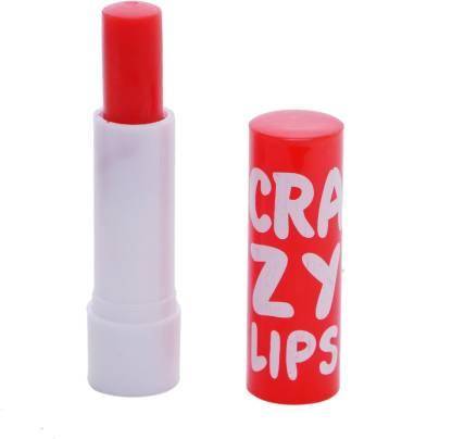 Crazy Skyedventures Red Color Lip Balm (Car-017)