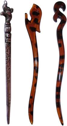 ELV 7-in-1 Combo of Multi Color Juda Sticks Bun Stick