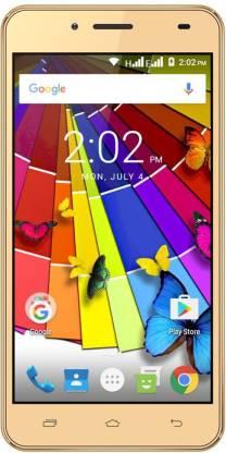 Ziox Quiq Wonder 4G (Gold, 8 GB)