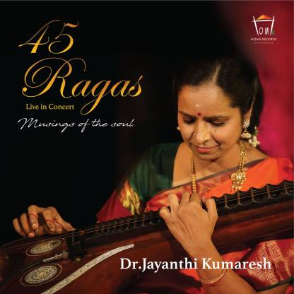 45 Ragas Live in Concert MP3 CD MP3 Standard Edition