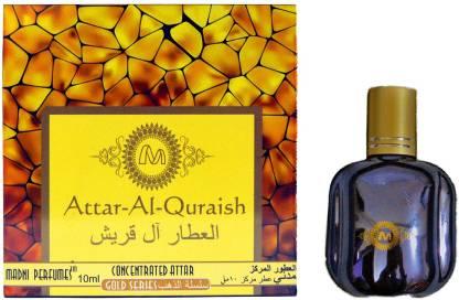 madni perfumes Attar-Al-Quraish Gold Series Concentrated Attar / Ittar Herbal Attar