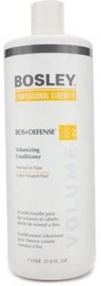 Generic Bos-Defense Volumizing Conditioner For Normal To Fine Color-Treated Hair Bosley Conditioner Unisex 33.8 Oz (Pack Of 5)