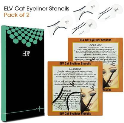 ELV Cat Smokey Eye, Makeup Eyeliner Stencils, Repeatable Card Template Tools Kit Eyebrow Stencil