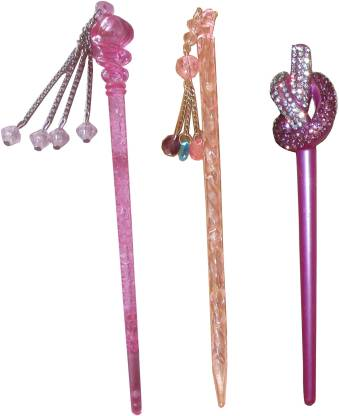 Kelley French Combo of Multi Color Juda Sticks Bun Stick
