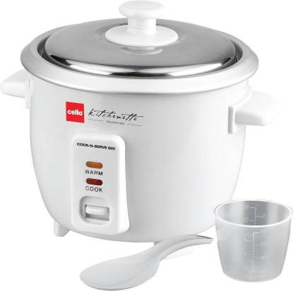 cello Cook-N-Serve 600 Electric Rice Cooker Electric Rice Cooker