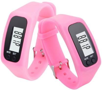 RHONNIUM LCD Pedometer Fitness Smartwatch