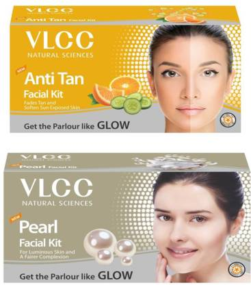 VLCC Original Anti-Tan and Pearl Facial Kit