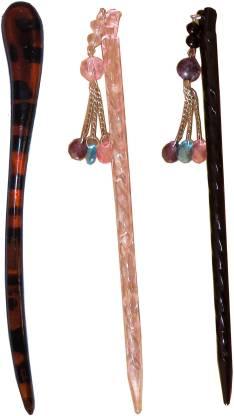 Must Visit Claw Combo of Multi Color Juda Sticks Bun Stick